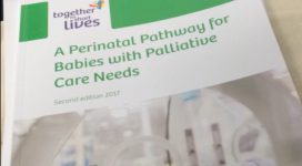 Front cover of Perinatal pathway for babies with palliative care needs