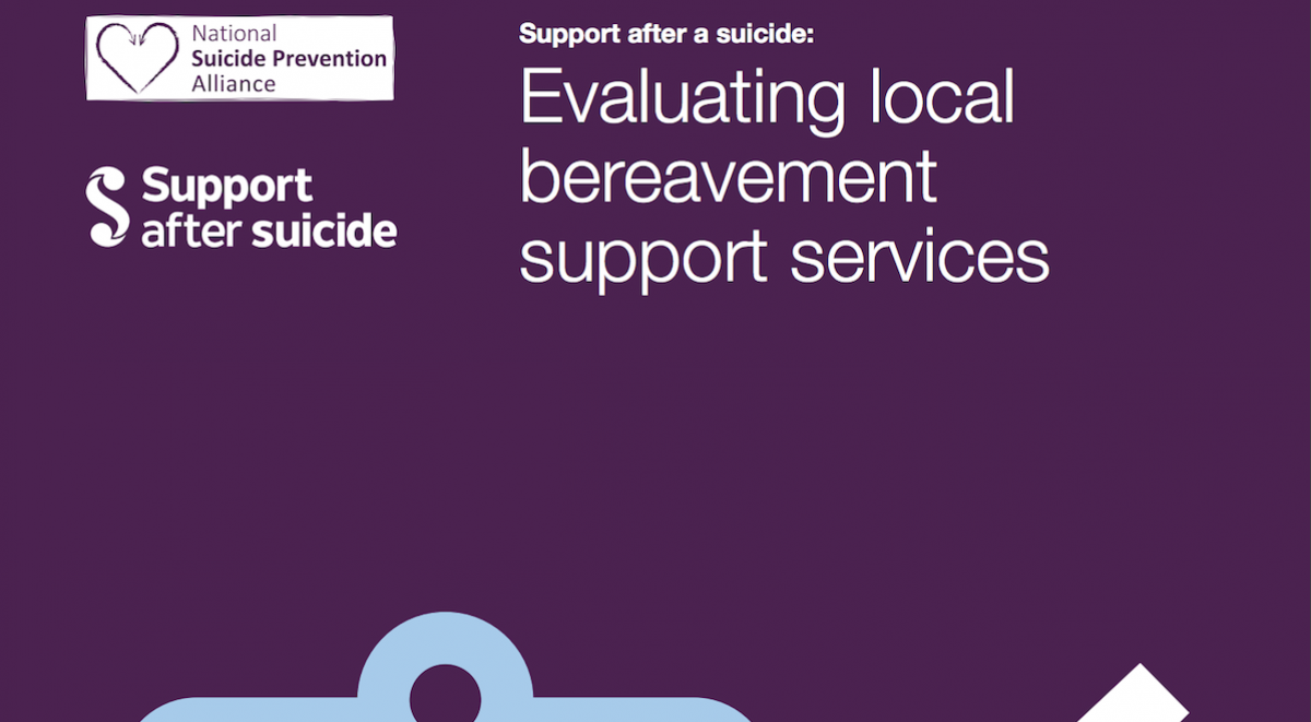 Front cover of Evaluating local suicide bereavement support services