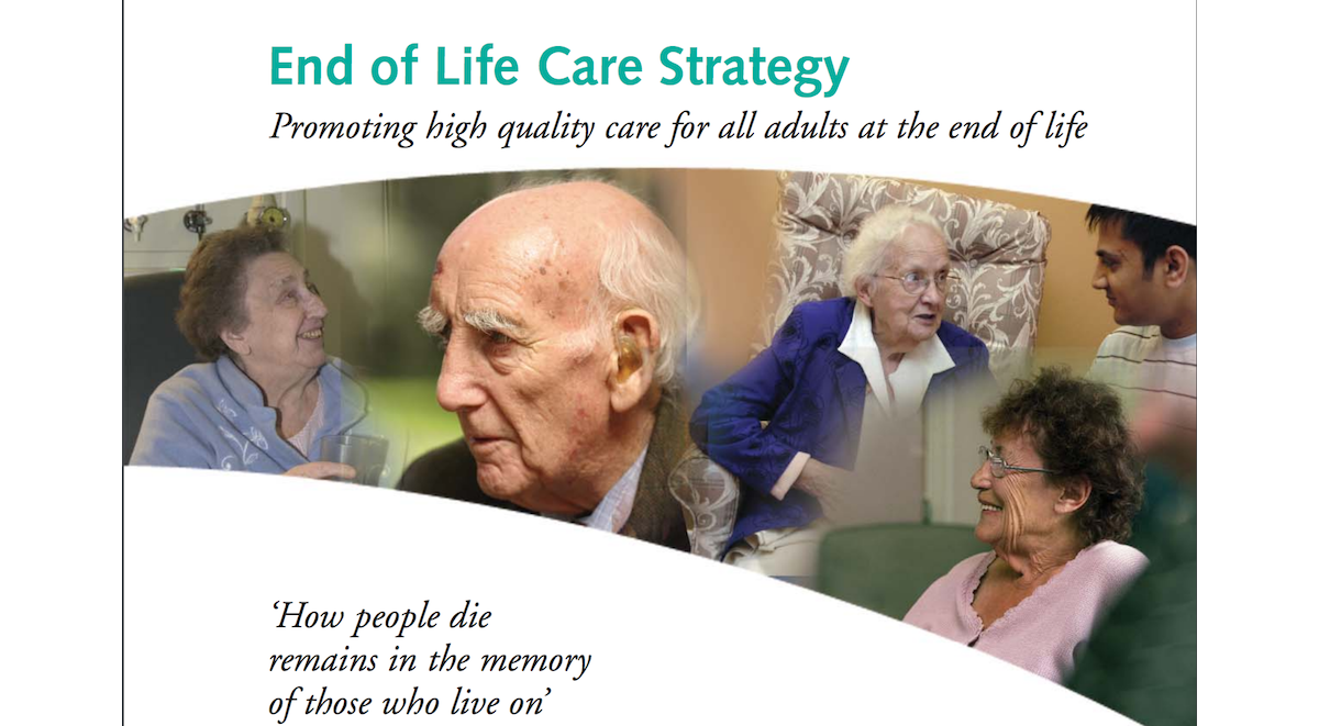 End of Life Care Strategy