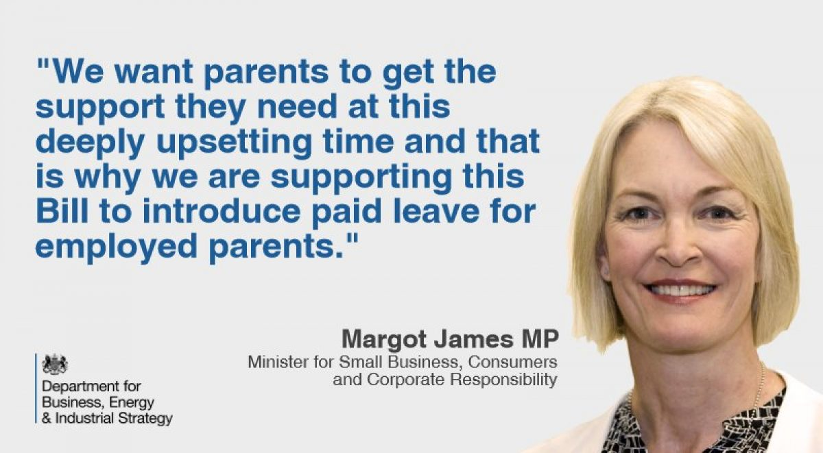 Parental Bereavement Pay and Leave Bill